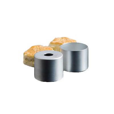 """American Metalcraft 13005 3"""" Biscuit Cutter, Satin Finish/Aluminum"""