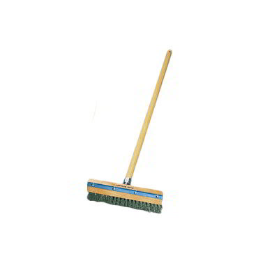 American Metalcraft 1597 40-in Oven Brush w/ Handle & Scraper, Steel/Wood