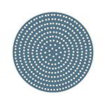 "American Metalcraft 18907SP 7"" Super Perforated Pizza Disk, Aluminum"