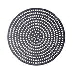 "American Metalcraft 18909SPHC 9"" Super Perforated Pizza Disk, Hardcoat, Aluminum"
