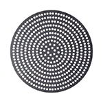 "American Metalcraft 18910SPHC 10"" Super Perforated Pizza Disk, Hardcoat, Aluminum"