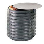 American Metalcraft 18917 17-in Round Pizza Separator, Aluminum