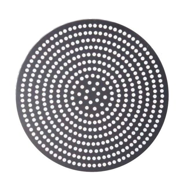 "American Metalcraft 18917SPHC 17"" Super Perforated Pizza Disk, Hardcoat, Aluminum"