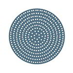 "American Metalcraft 18918SP 18"" Super Perforated Pizza Disk, Aluminum"