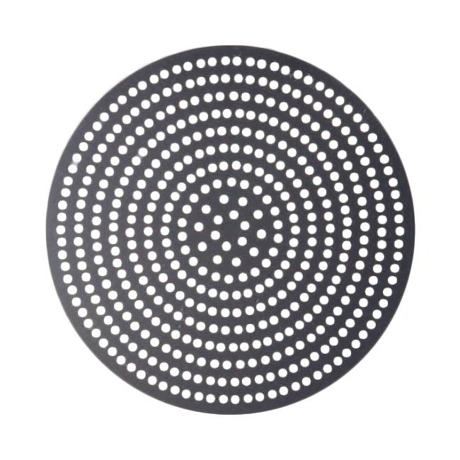 "American Metalcraft 18918SPHC 18"" Super Perforated Pizza Disk, Hardcoat, Aluminum"