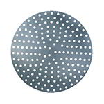 "American Metalcraft 18919P 19"" Perforated Pizza Disk, Aluminum"