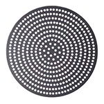 "American Metalcraft 18919SPHC 19"" Super Perforated Pizza Disk, Hardcoat, Aluminum"