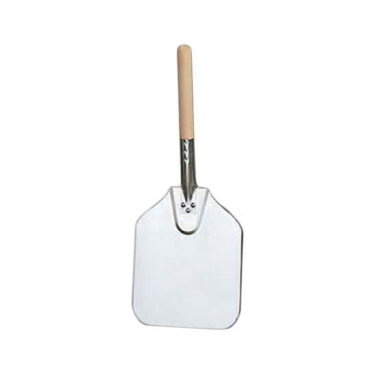 American Metalcraft 2109 21-in Pizza Peel w/ Blade & Handle, Aluminum/Wood
