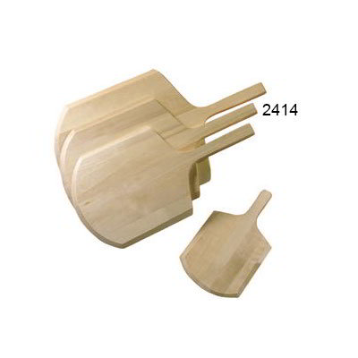 "American Metalcraft 2414 24"" Pizza Peel, 14x15"", Wood"