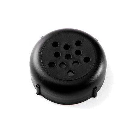 American Metalcraft 244B Perforated Shaker Top, Polypropylene, Black