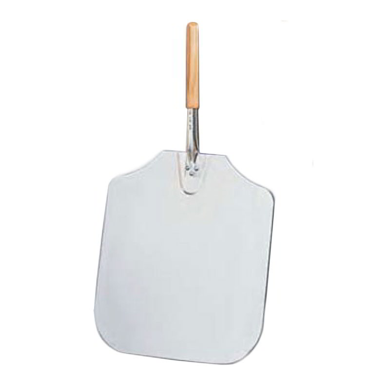 American Metalcraft 3016 30-in Pizza Peel, 16x18-in, Aluminum/Wood