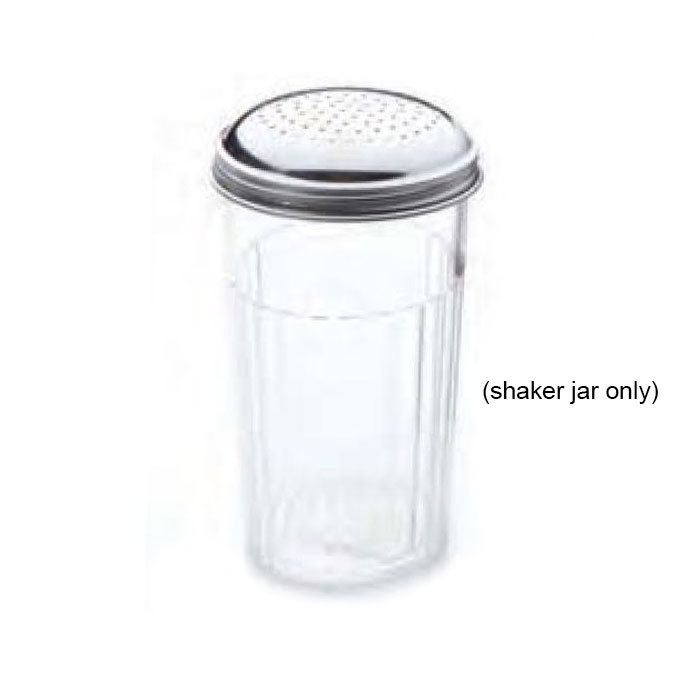 American Metalcraft 3300-SHAKER Shaker Jar w/ 12-oz Capacity & No Top, Plastic