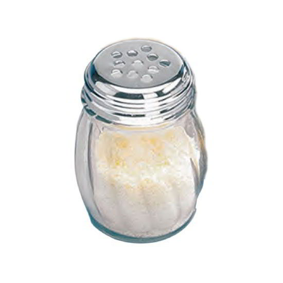 American Metalcraft 3306 Cheese Shaker w/ 6-oz Capacity & Top, Glass/Stainless