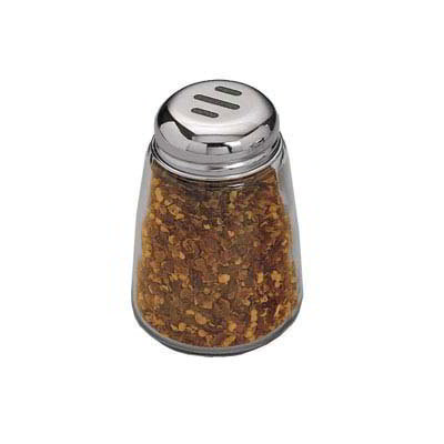 American Metalcraft 3309 Spice Shaker w/ 8-oz Capacity, Glass/Stainless