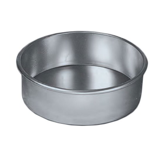 "American Metalcraft 3809-PAN 9"" Round Cake Pan, Aluminum"