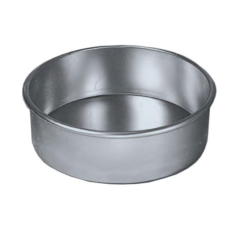 "American Metalcraft 3810-PAN 10"" Round Cake Pan, Aluminum"