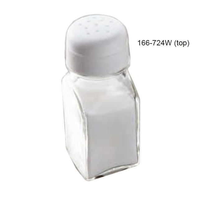 American Metalcraft 724W Perforated Salt & Pepper Lid, Polypropylene, White
