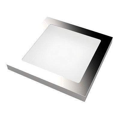 "American Metalcraft A281S 11"" Square Frame for C281S, Stainless"