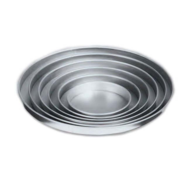 American Metalcraft A4009 9-in Straight Sided Pizza Pan, 1-in Deep, Solid, Aluminum