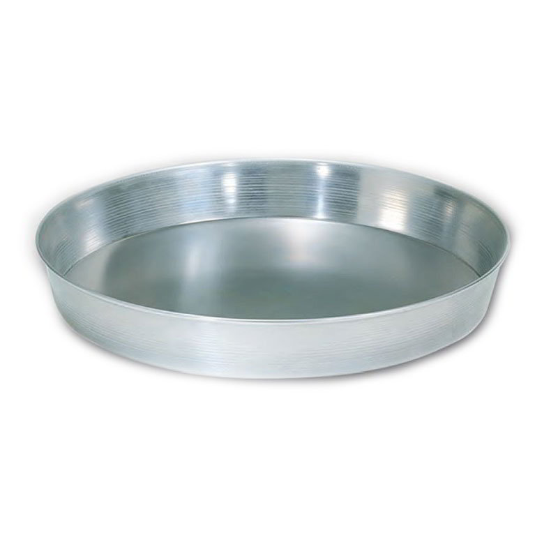 "American Metalcraft A90081.5 8"" Tapered Pizza Pan, 1.5"" Deep, Solid, Aluminum"
