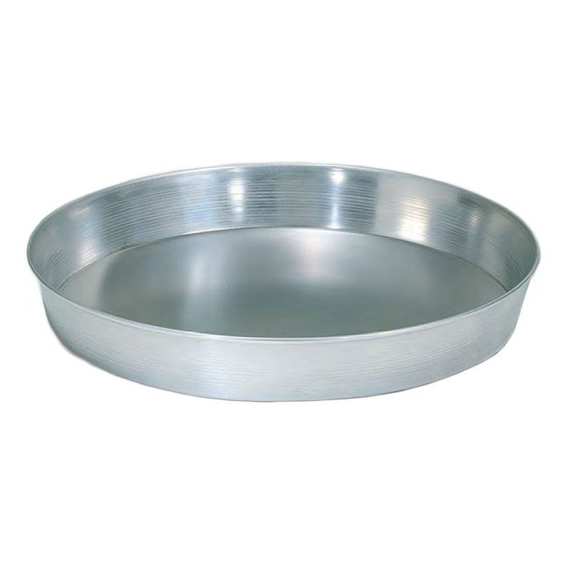 "American Metalcraft A90092 9"" Tapered Pizza Pan, 2"" Deep, Solid, Aluminum"