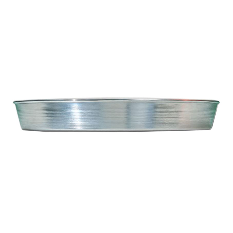 """American Metalcraft A90132 13"""" Tapered Pizza Pan, 2"""" Deep, Solid, Aluminum"""