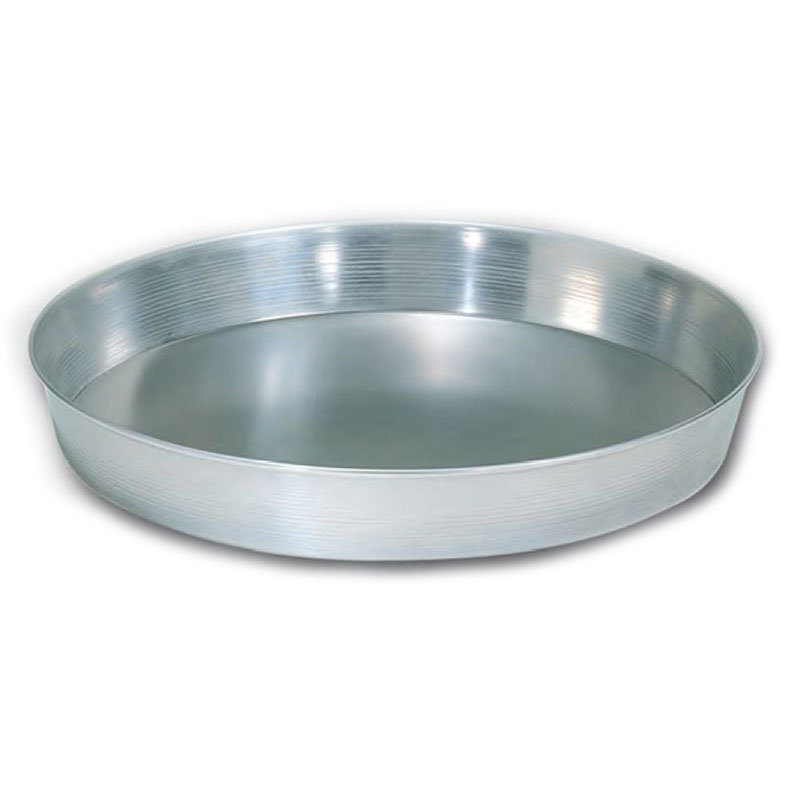 """American Metalcraft A90672 6"""" Tapered Pizza Pan, 2"""" Deep, Solid, Aluminum"""