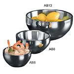 American Metalcraft AB13 Angled Bowl w/ 216-oz Capacity, Stainless