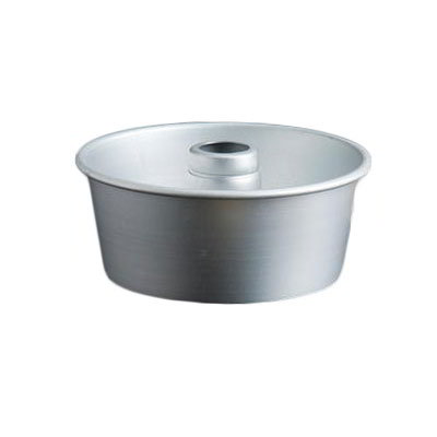 "American Metalcraft AFP958 Angel Food Cake Pan - 10x4"", 4.19"" Cone, 14-ga Anodized Aluminum, Satin Finish"