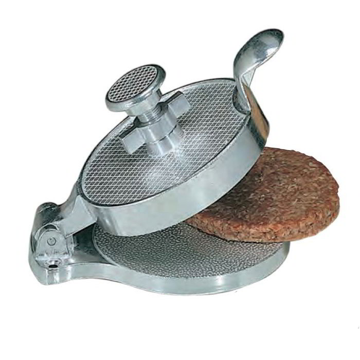American Metalcraft AHM485 4.5-in Adjustable Hamburger Mold, Aluminum