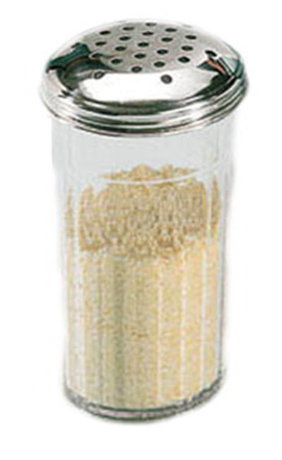 American Metalcraft 3312 Cheese Shaker w/ 12-oz Capacity & Top, Plastic/Stainless