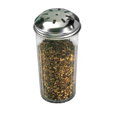 American Metalcraft 3317 Spice Shaker w/ 12-oz Capacity & Top, Plastic/Stainless