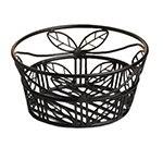American Metalcraft BLLB94 9-in Bread Basket w/ Leaf Des