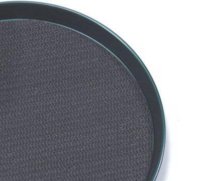 American Metalcraft BTTL13 13-in Non Slip Tray Mat, Black