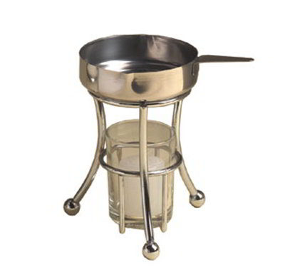 American Metalcraft BWPC35 Butter Warmer w/ 3.5-oz Capacity Cup, Chrome/Stainless