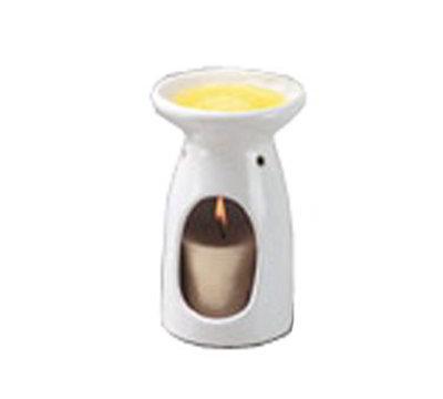 American Metalcraft BWW35 Butter Warmer, Ceramic/White