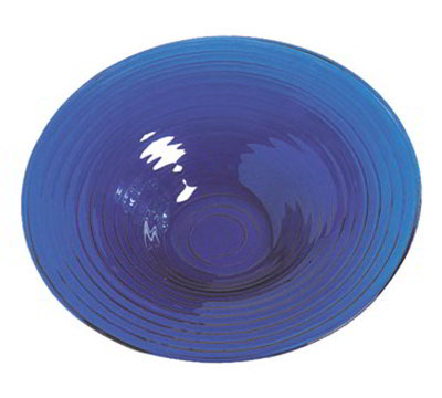 American Metalcraft GBB20 18.5-in Bowl, Blue/Glass
