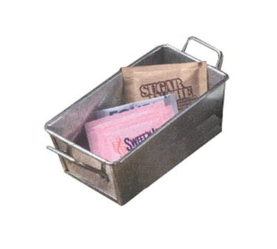 American Metalcraft GSP35 Sugar Packet Holder, 5x3-in, Silver