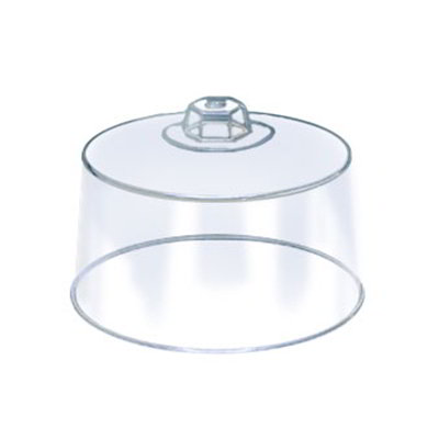 American Metalcraft 19004 12-in Round Cake Cover, Plastic, Clear