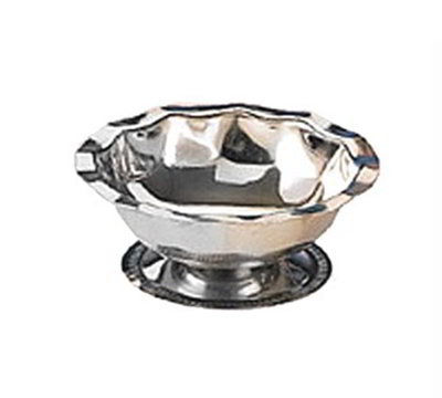 American Metalcraft 5000 52-in Footed Sherbet Dish w/ 5-oz Capacity, Stainless