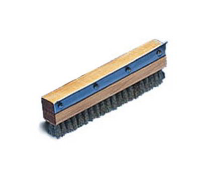 American Metalcraft 1597H Oven Brush Replacement w/ Brass Bristles & Steel Scraper