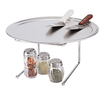 "American Metalcraft 190039 12.575"" PIzza Stand, 9x8-in, Chrome/Steel"