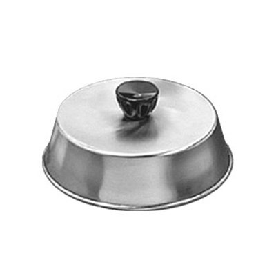 American Metalcraft BA740S 7.5-in Basting Cover w/ Bakelite Knob, Black, Stainless