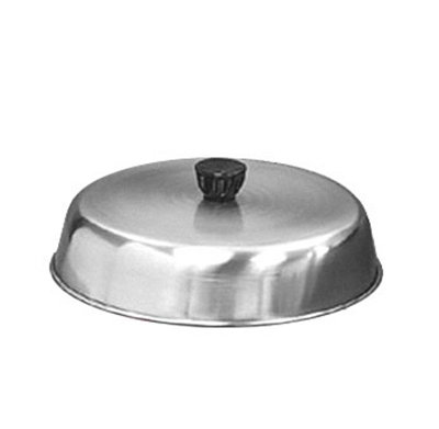 American Metalcraft BA640S 6.5-in Basting Cover w/ Bakelite Knob, Black, Stainless