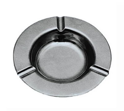 American Metalcraft 303S 5.25-in Round Ash Tray, Satin Finish, Stainless