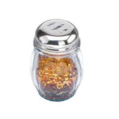 American Metalcraft 3307-SHAKER Spice Shaker w/ 6-oz Capacity & Top, Glass/Stainless