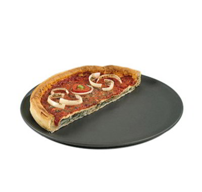 American Metalcraft HCCTP10 10-in Coupe Style Pizza Pan, Hardcoat, Aluminum