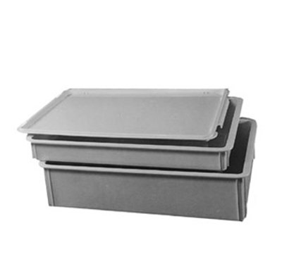 American Metalcraft DRBC1826 Dough Retarding Box Cover Fits DRB18263 & DRB18266, White/Plastic