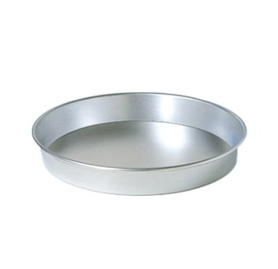 American Metalcraft HA90102 10-in Tapered Pizza Pan, 2-in Deep, Aluminum