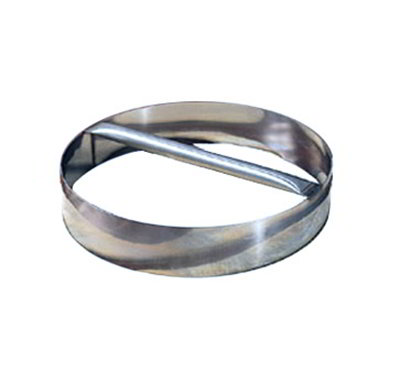 American Metalcraft RDC10 10-in Dough Cutting Ring w/ Welded Handle, Stainless